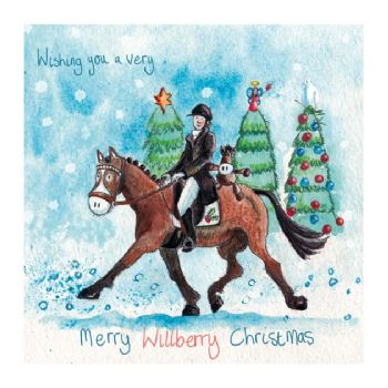 Willberry Wonderpony Christmas Cards